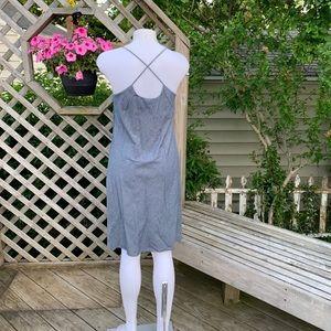 Banana Republic Dresses - Casual Gray Summer Dress